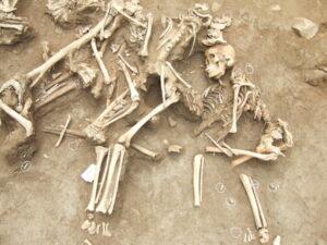 2007년 충북 청주 분터골 유해발굴|노용석 제공