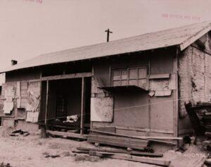 철거를 앞둔 부산미군사령부 지역 '위안소'의 모습(2)|1952.5.17. NARA 소장, 전갑생 제공