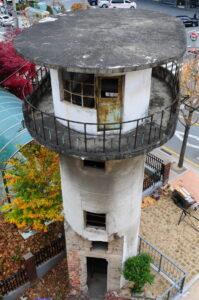 현재 대전형무소 터에 남아있는 망루|2018.11.21. ⓒ임재근