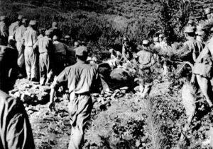 「한국에서의 정치범 처형」에 첨부된 18장의 대전 학살 사진 (4)| NARA 소장, 이도영 발굴, 임재근 제공