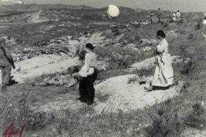 대전 지역에서 북한군에 의해 학살당한 사람들의 시신|1950.10. NARA 소장, 김득중 제공